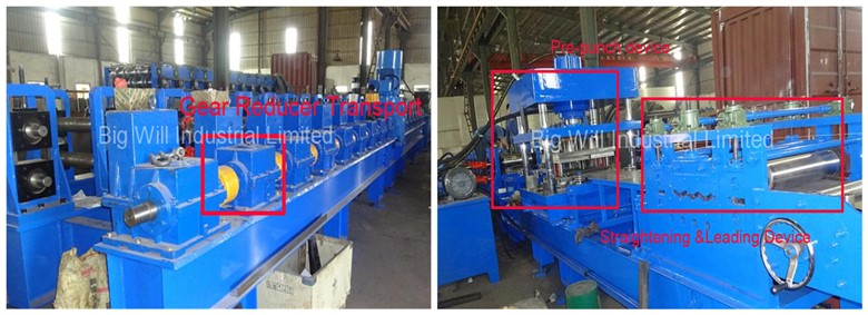 China highway guardrail roll forming machine